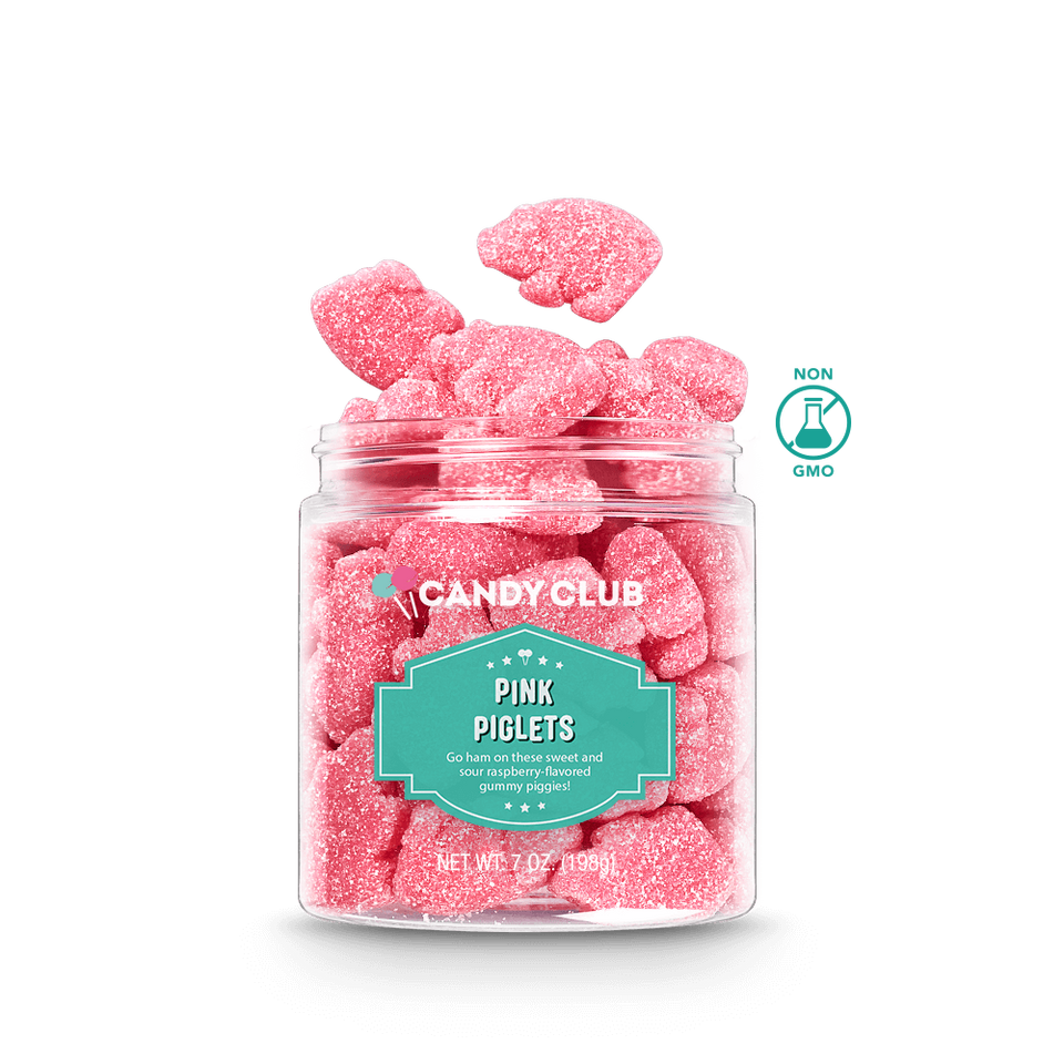 Sour Raspberry Pink Piglets