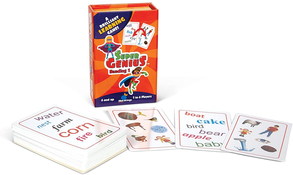 Super Genius Reading 1
