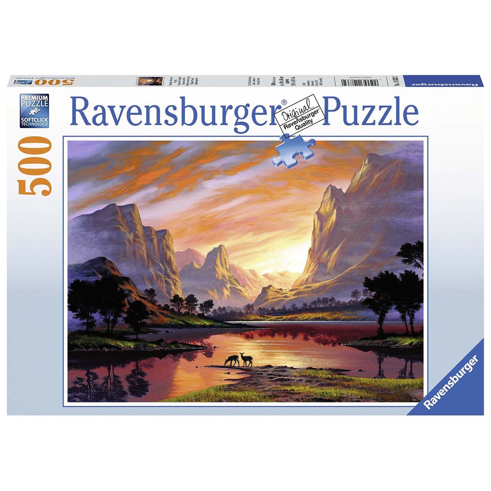 Tranquils Sunset 500 Piece Puzzle
