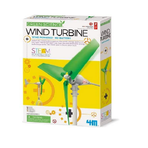 Wind Powered Wind Turbine