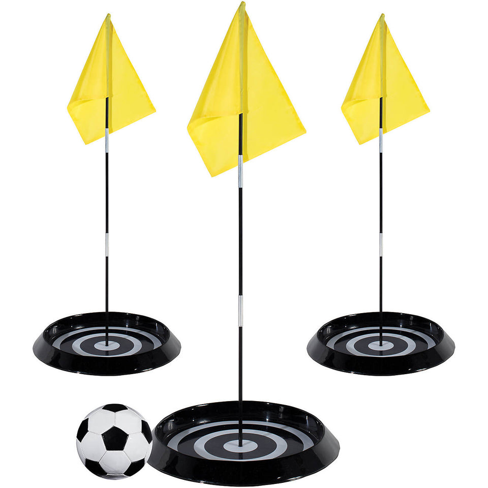Backyard Foot Golf flags