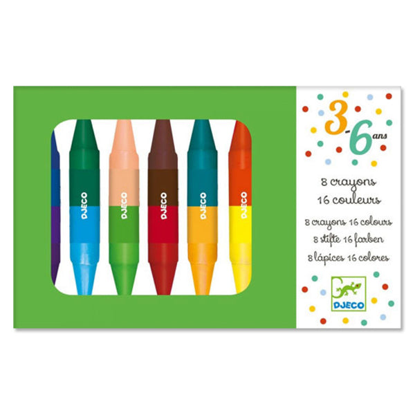 Twin Tip Crayons - Set of 8