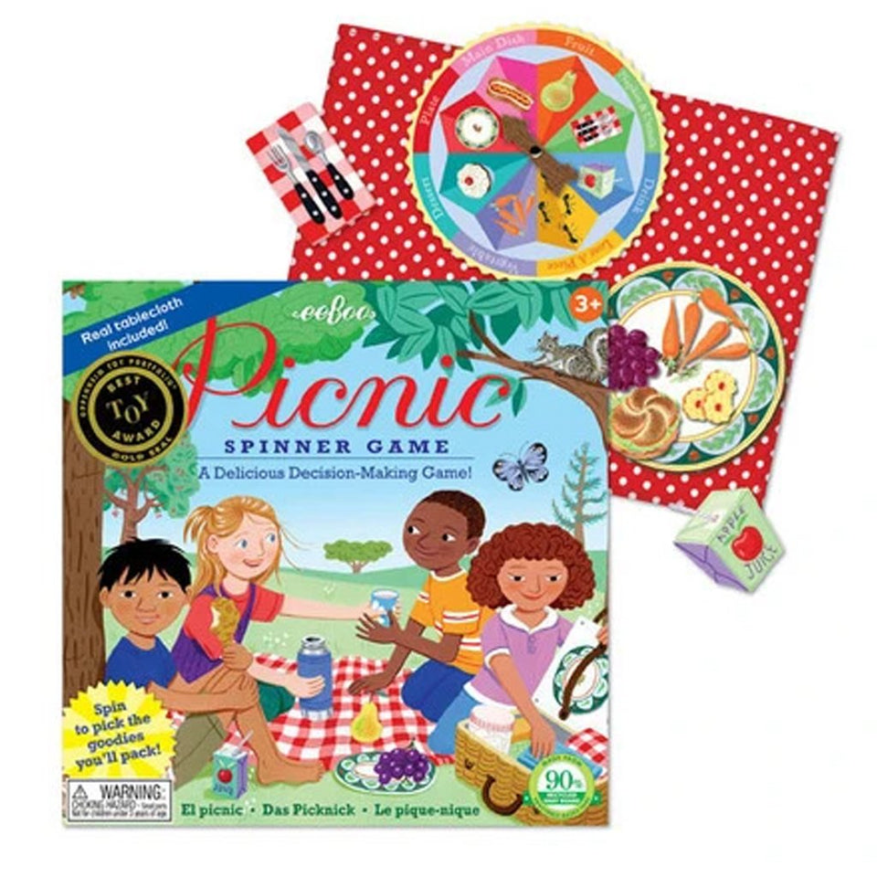 Picnic Spin to Play Game