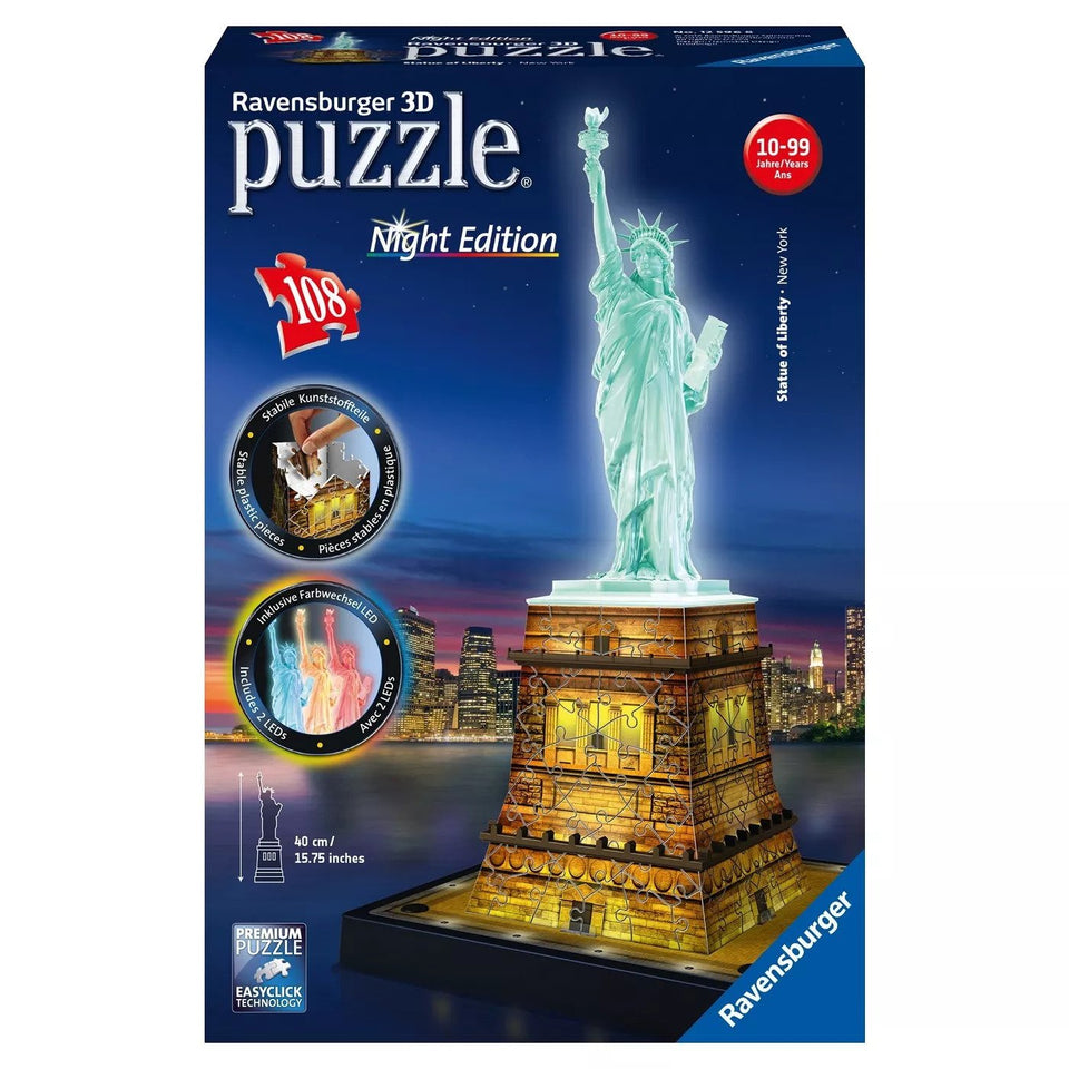 Statue of Liberty 3D LED Puzzle