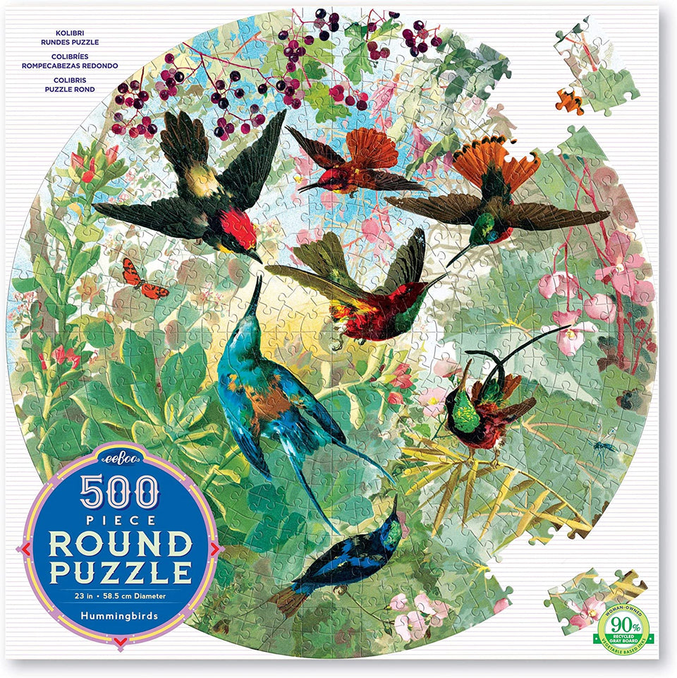 Hummingbirds 500 Piece Puzzle