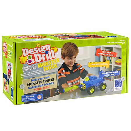 Build & Design Monster Truck