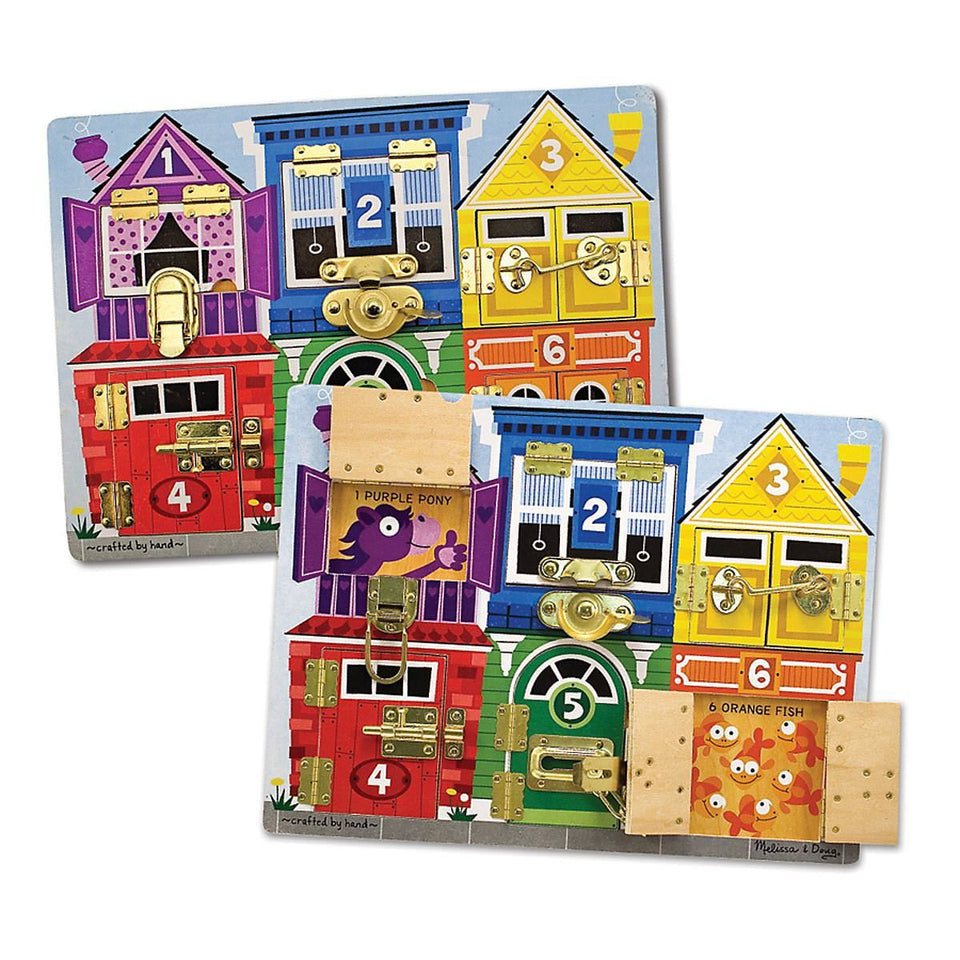 Latches Puzzle Board