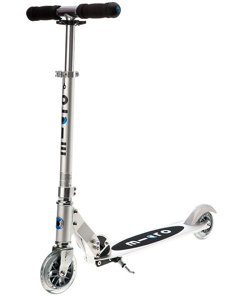 Sprite Silver Scooter