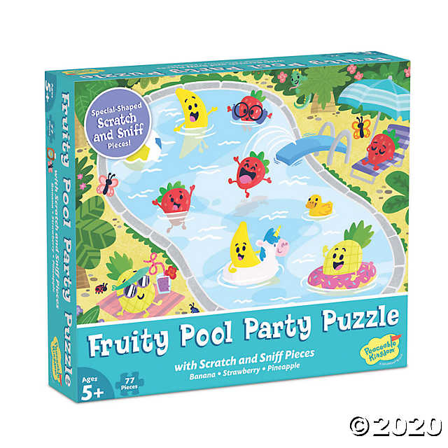 Fruity Pool Party 77 Piece Puzzle