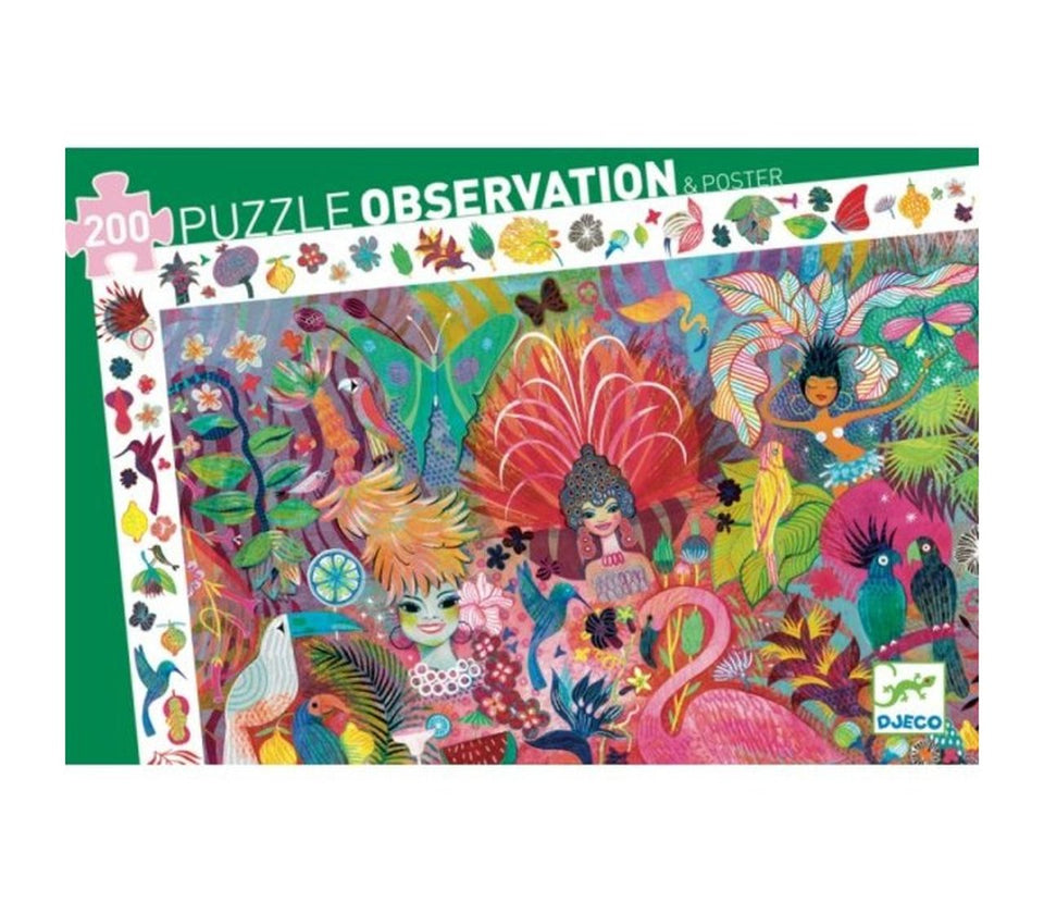 Observation Puzzle Rio Carnival 200 Pieces