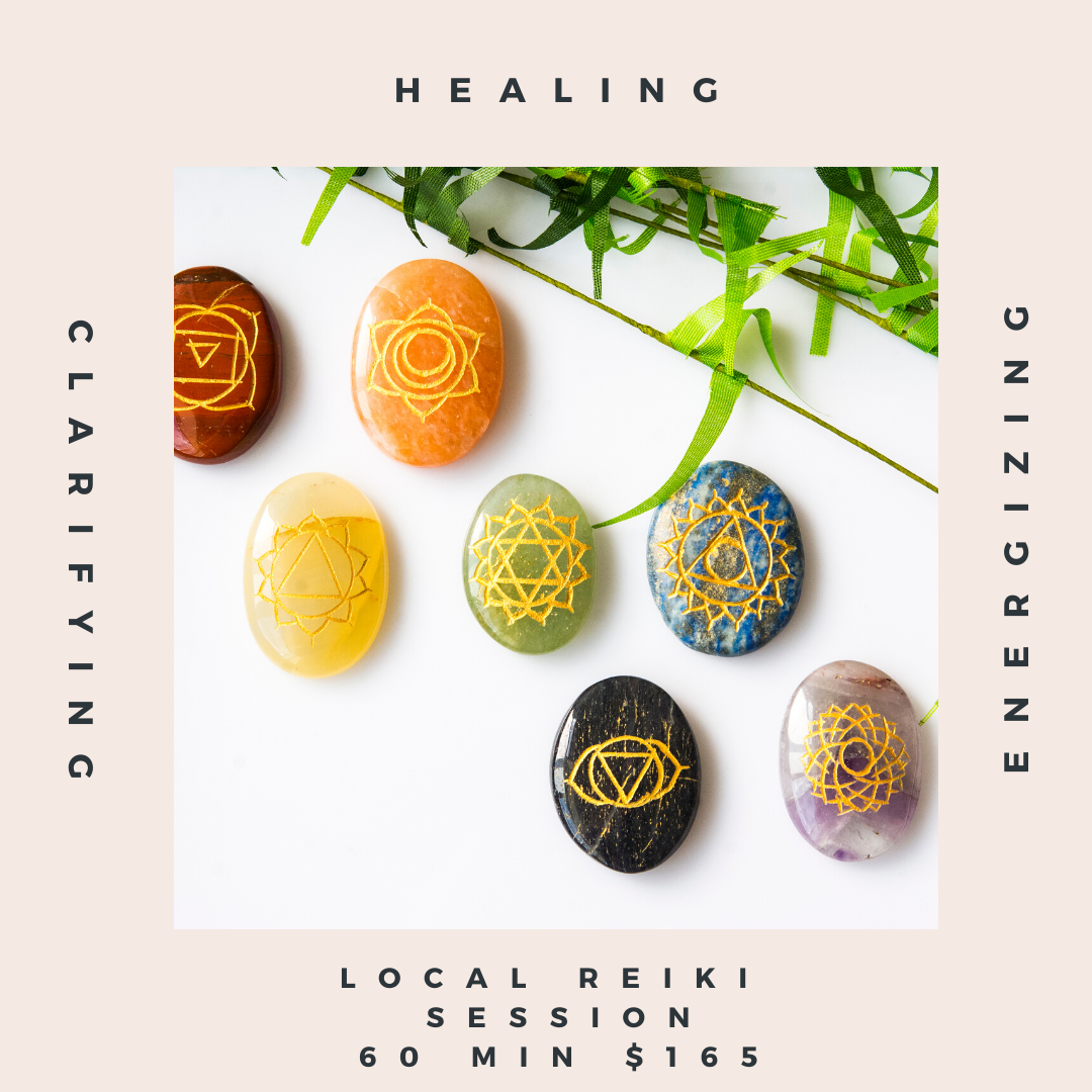 Reiki + Crystal Healing Session - 60 minutes (los Angeles)