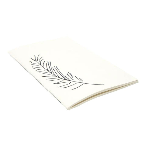 Raven & Lily Feather Paper Journal