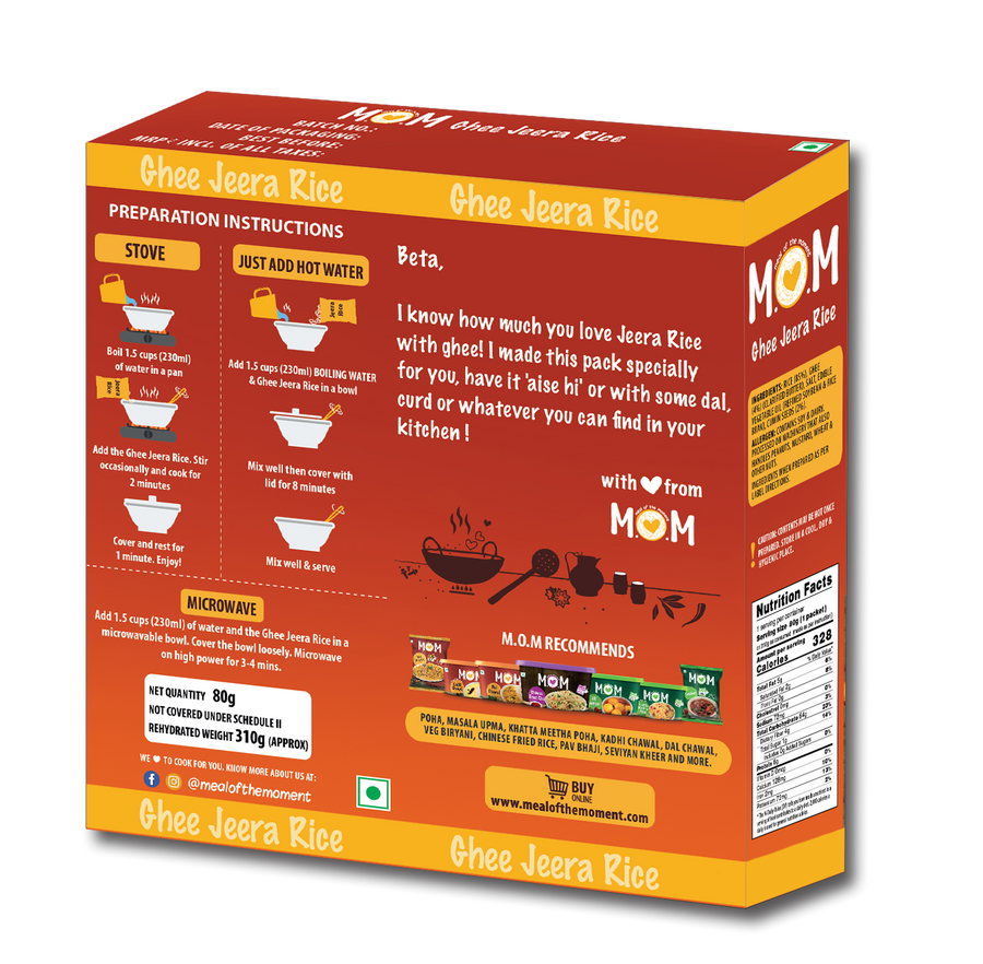 Ghee Jeera Rice (Pack of 2)