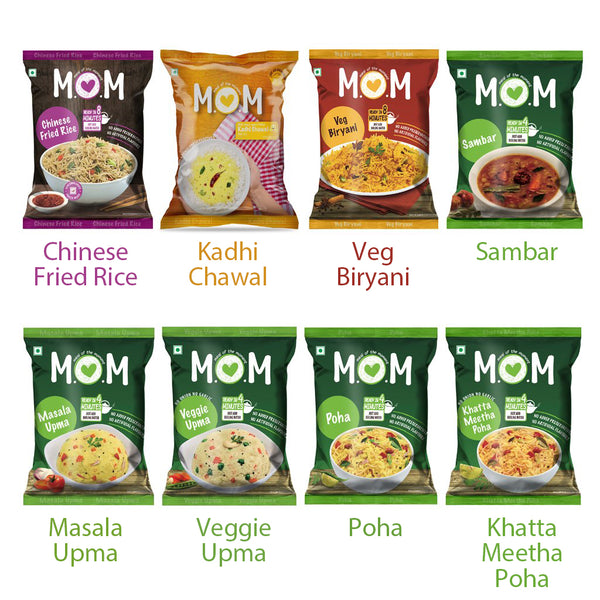 All MOM Pouches - 8 Meals
