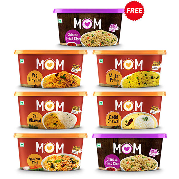 MOM's Weekly Khaana Saver Bundle