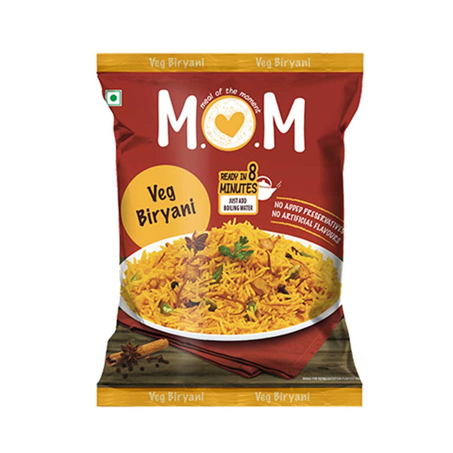Veg Biryani Pouch (Pack of 2)