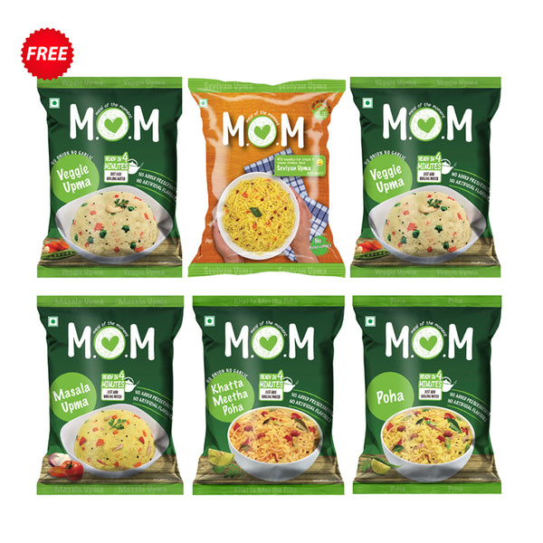 MOM's Weekly Naashta Pouch Saver Bundle