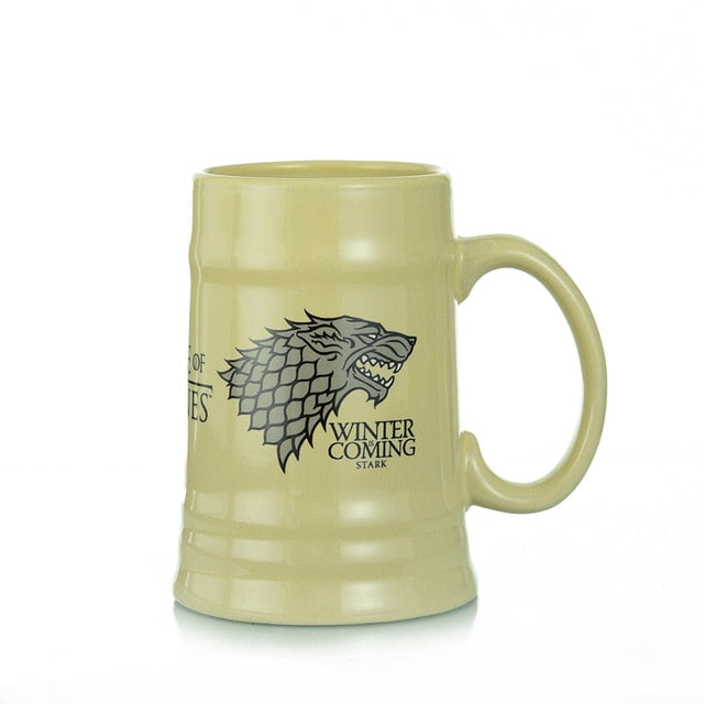 Deluxe Game of Thrones Ceramic Stein