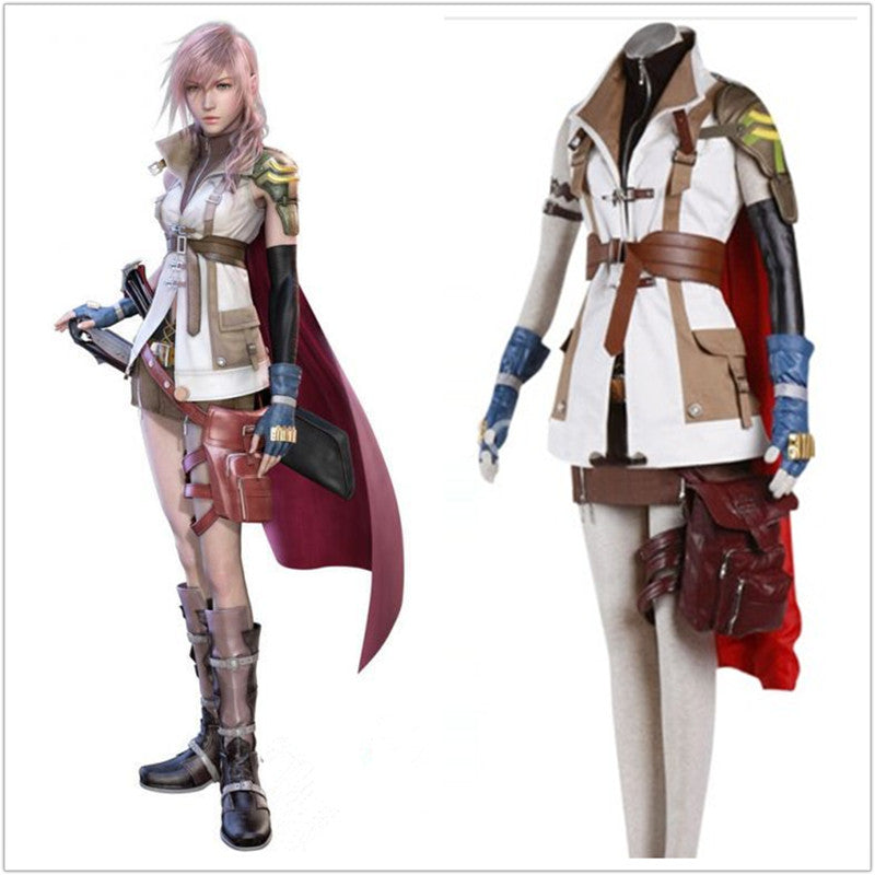Fantasy XIII Lightning Uniform + Wig