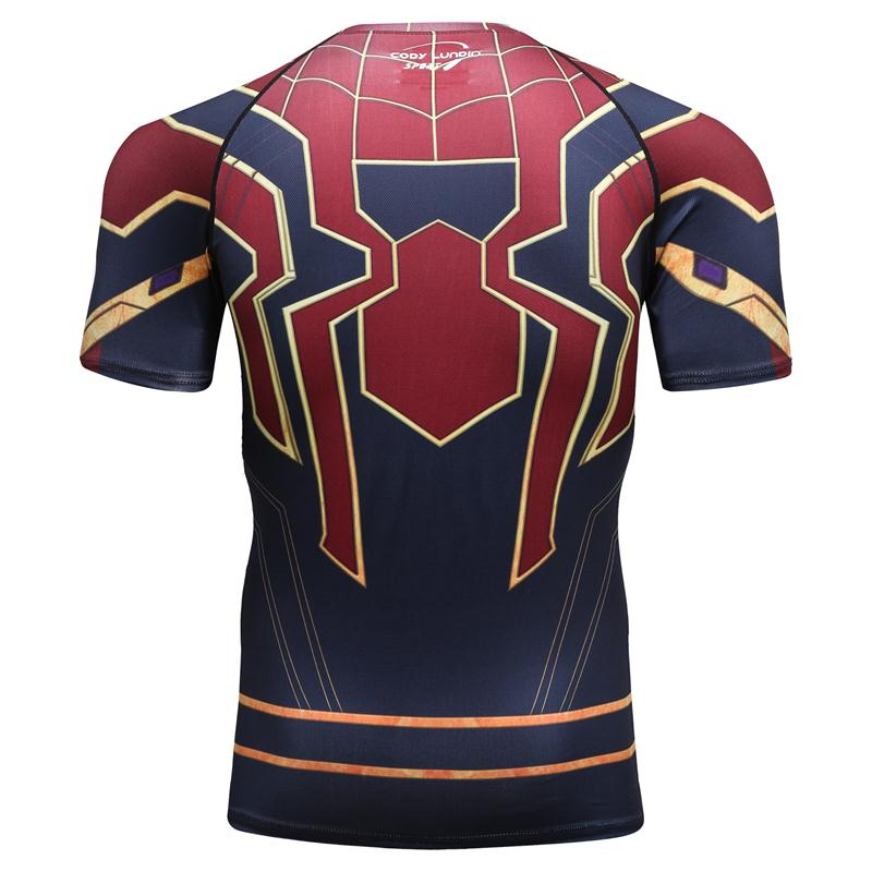 Infinite War Gold Spider T-shirt