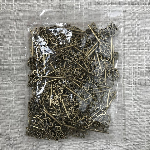 100pcs Pack Wizard Bank Keys