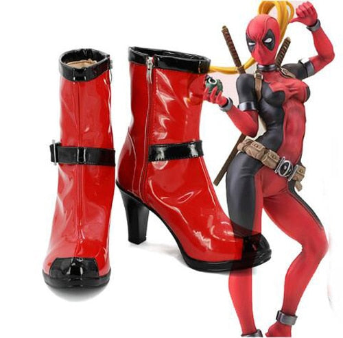 Superhero Red Dead Boots