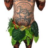 Maui Adult muscle costume