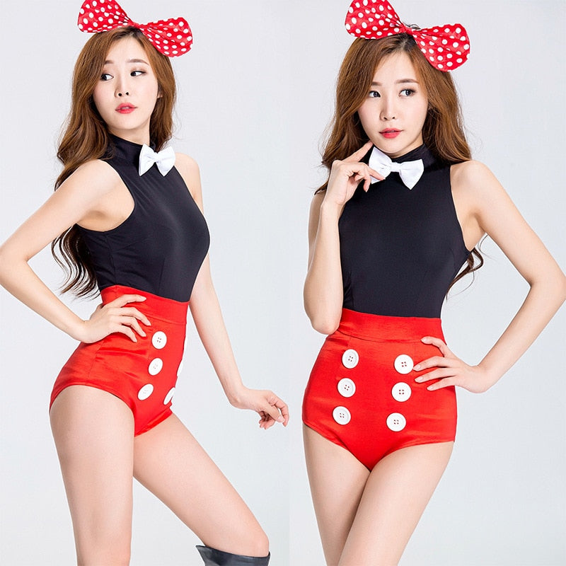 Red Mini Mouse Costume