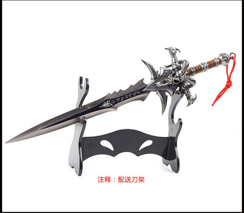 Lich King Arthas Mini Sword with Tool Carrier