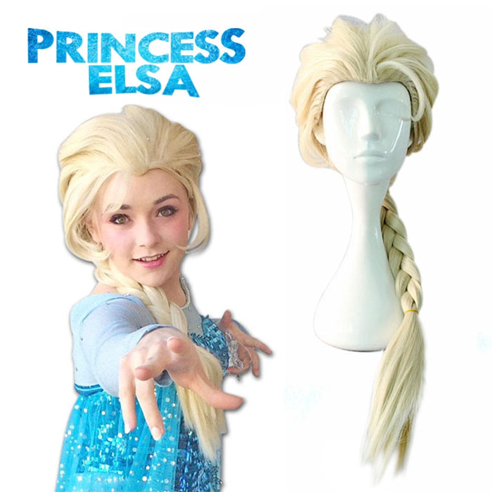 princess Snow Queen Wig