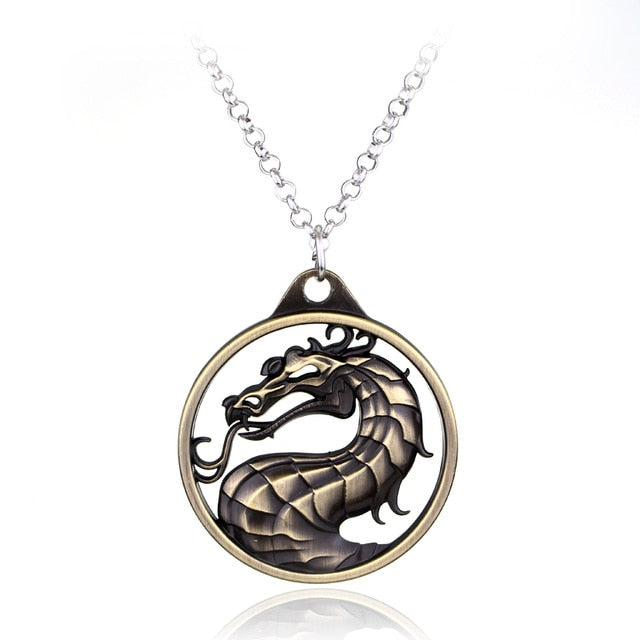 Fighting Games Dragon Necklace