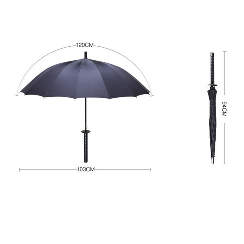 Windproof Samurai Sword Umbrella