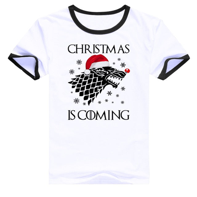 Women's Christmas is coming Tee
