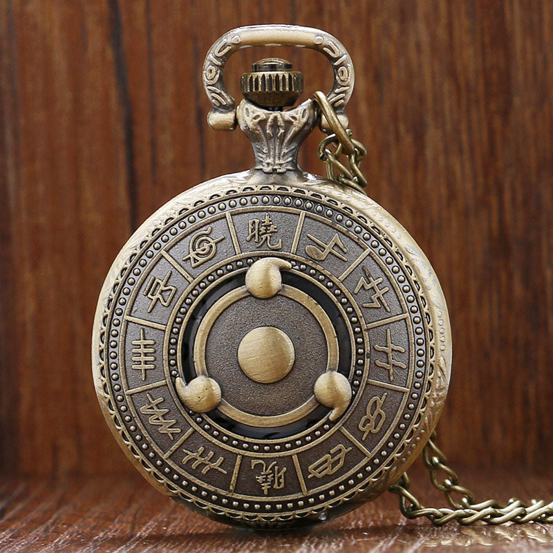 Konoha Ninja Pocket Watch