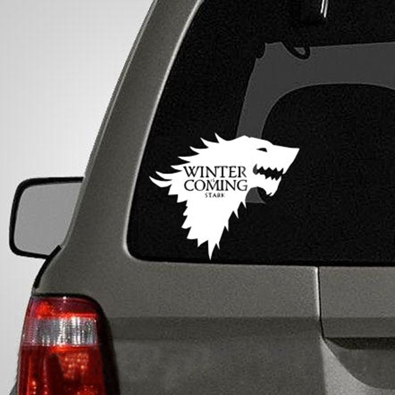 Wolf Car Decal