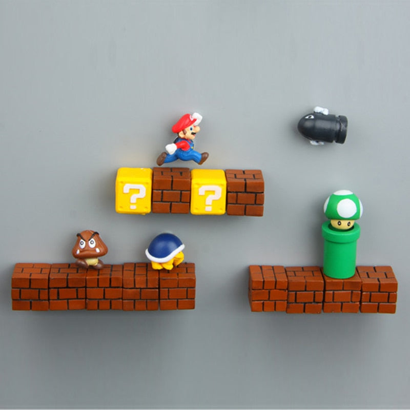 3D Gaming DIY Fridge Magnet
