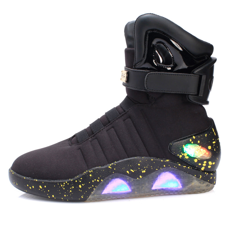 LED Glowing High Tops Sneakers