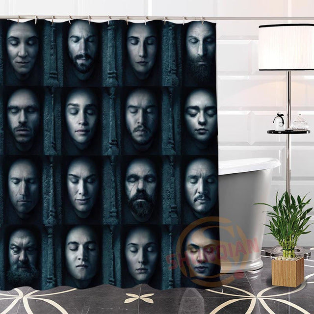Faceless Shower Curtain