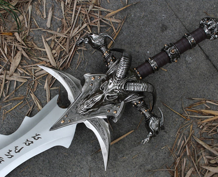 Gamer Fans Wow Metal Replica Swords