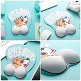 Cute Corgi Dog 3D Mouse Pad