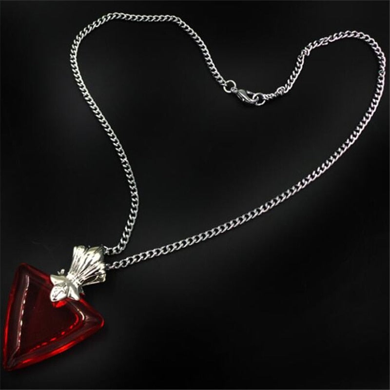 Tohsaka Rin Red Night Necklace