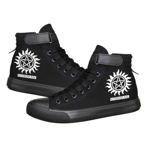 Supernatural Lace-Up Sneakers