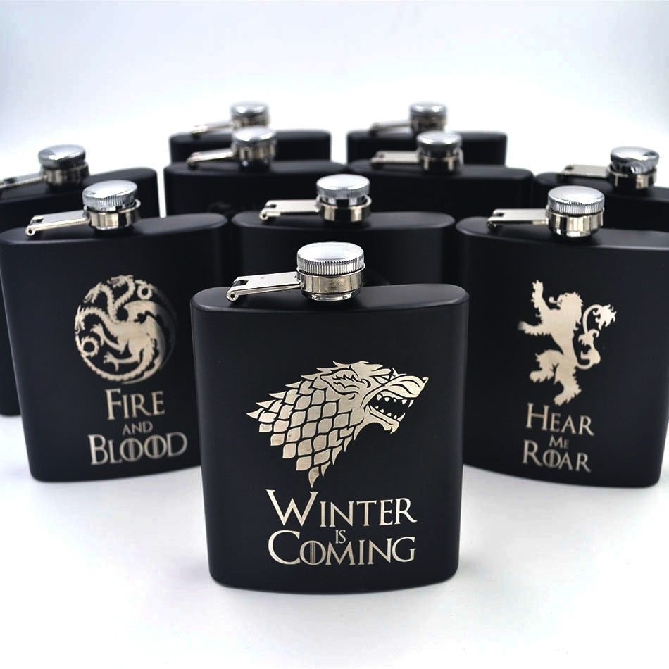 TV Show House Mini Hip Flask