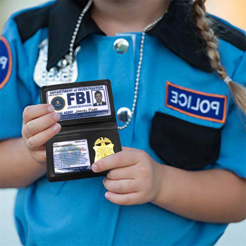 TV Show FBI Badge Card Holder