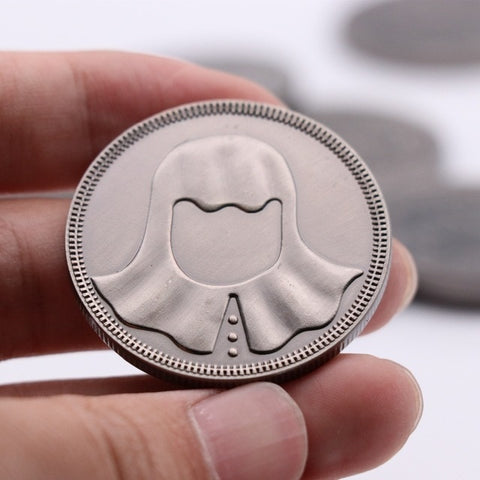 Faceless Coin Badge