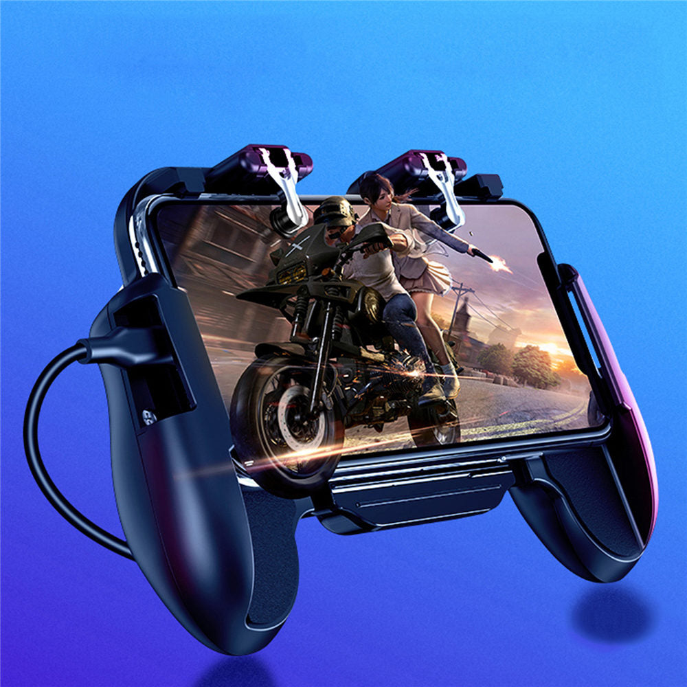 Mobile Controller L1R1 Gamepad Cooler Fan