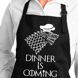 Dinner is Coming Cooking Apron