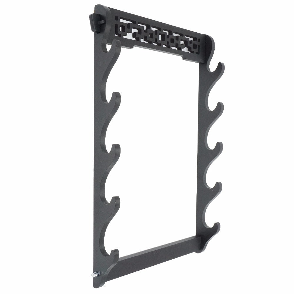 5-Tier Sword Holder Wall Mount