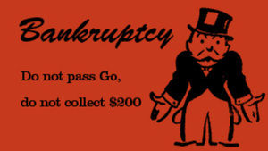 Bankruptcy or knowing how to stop