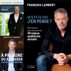 François Lambert 3 books package